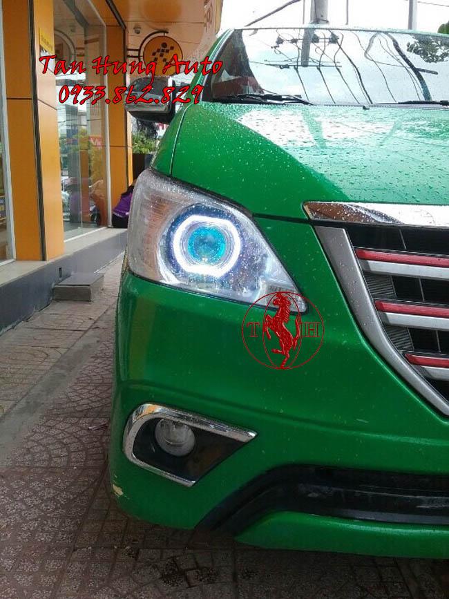 Độ Đèn Mắt Quỷ Toyota Innova 2015 Tại Tphcm