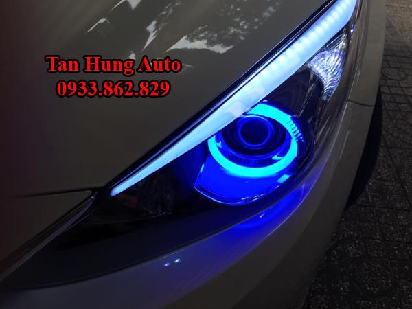 Độ Đèn Mazda 3 2016, 2017 Chuyên Nghiệp Tại Tphcm 03