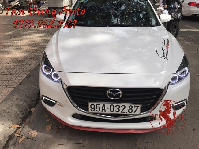 Độ Đèn Mazda3 2017 Chuyên Nghiệp Tại Tphcm