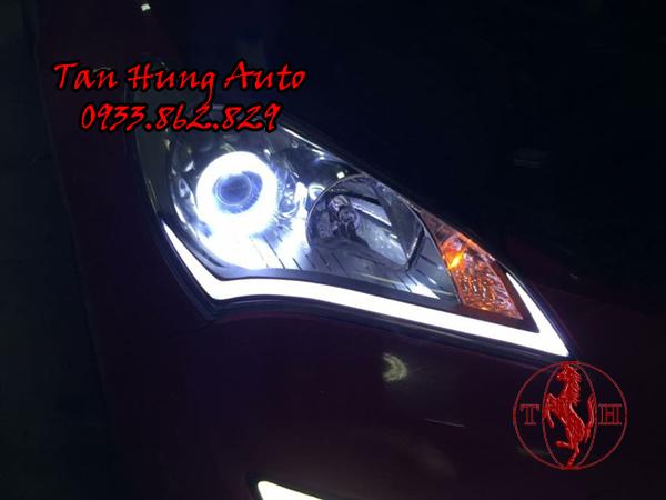 Độ Đèn Mí Led Hyundai Genesis Chuyên Nghiệp