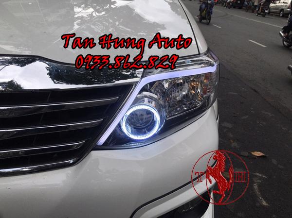 Độ Đèn Mí Led Toyota Fortuner Chuyên Nghiệp 03