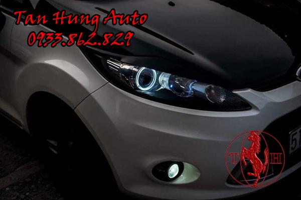 Độ Đèn Ô Tô Ford Fiesta Chuyên Nghiệp 02