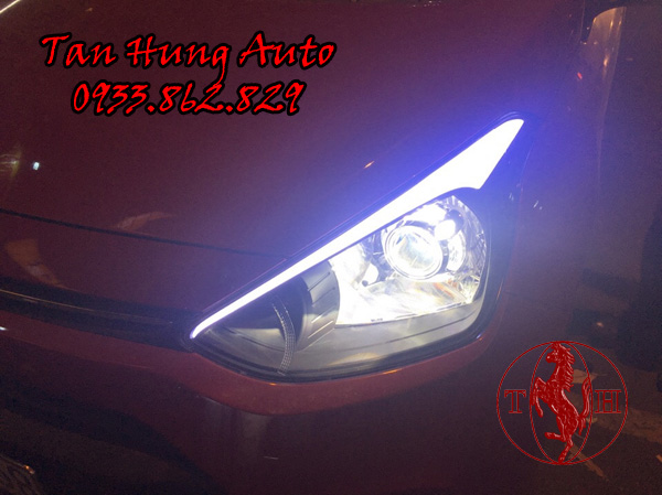 Độ Đèn Ô Tô Hyundai i10 Chuyên Nghiệp 02