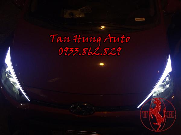 Độ Đèn Ô Tô Hyundai i10 Chuyên Nghiệp 03