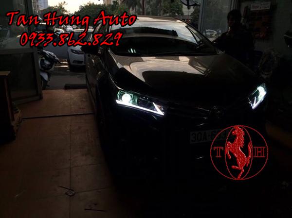 Độ Đèn Led Cho Toyotal Altis Tại Tphcm 01