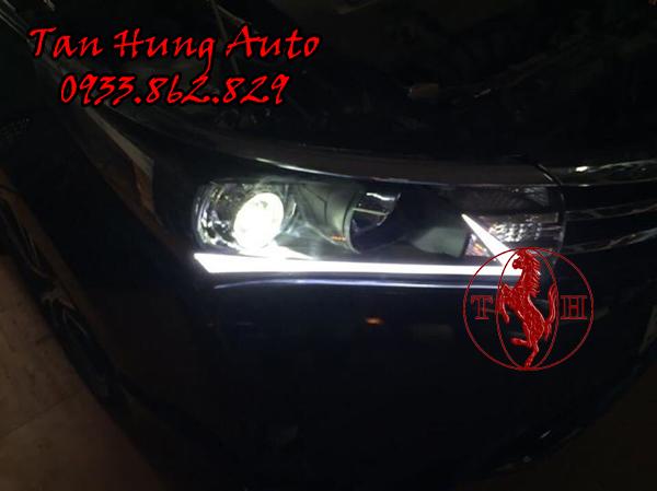 Độ Đèn Led Cho Toyotal Altis Tại Tphcm 02