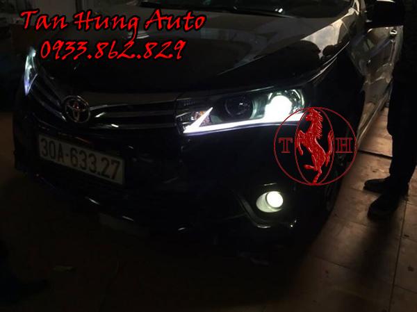 Độ Đèn Led Cho Toyotal Altis Tại Tphcm