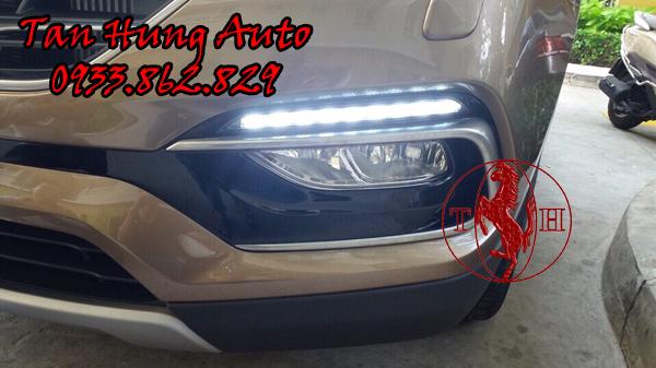 Độ Đèn Ô Tô Led Gầm Hyundai Santafe 2016 01