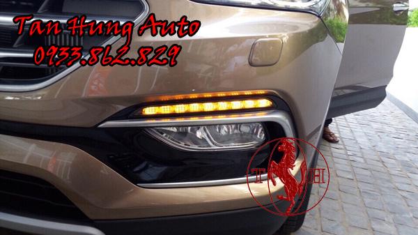Độ Đèn Ô Tô Led Gầm Hyundai Santafe 2016