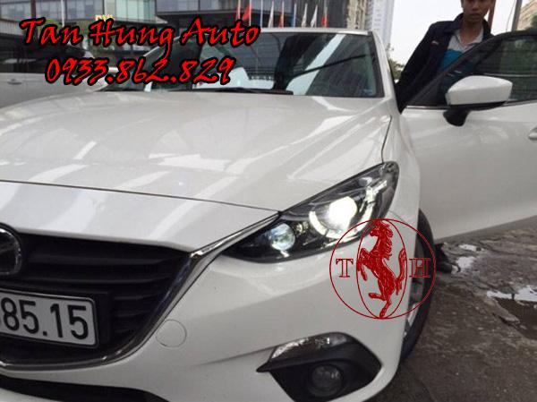 Độ Đèn Ô Tô Mazda 3 2017 Tại Tphcm