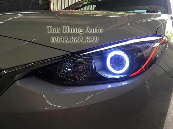 Độ Đèn Ô Tô Mazda 3 Tại Tphcm