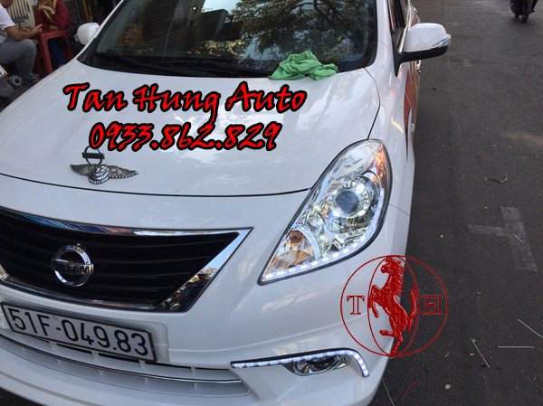 Độ Đèn Ô Tô Nissan Sunny Tại Tphcm 02