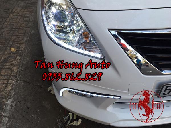 Độ Đèn Ô Tô Nissan Sunny Tại Tphcm