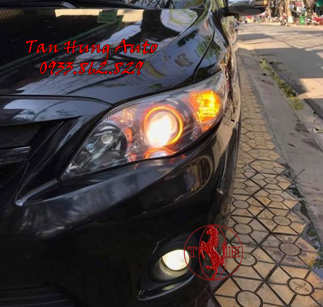 Độ Đèn Ô Tô Toyota Altis Chuyên Nghiệp 01