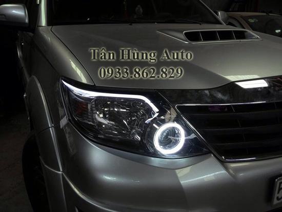 Độ Đèn Toyota Fortuner Chuyên Nghiệp Tại Tphcm 01