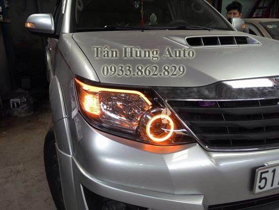 Độ Đèn Toyota Fortuner Chuyên Nghiệp Tại Tphcm 02