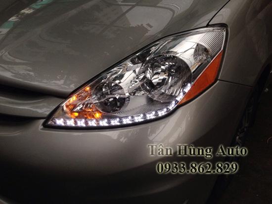 Độ Đèn Toyota Sienna Chuyên Nghiệp Tại Tphcm 01
