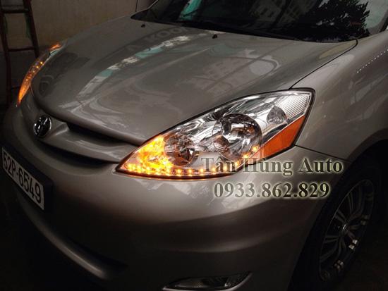Độ Đèn Toyota Sienna Chuyên Nghiệp Tại Tphcm
