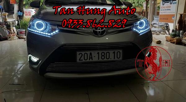 Độ Đèn Toyota Vios Chuyên Nghiệp Tại Tphcm 01