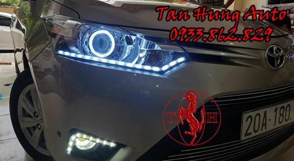 Độ Đèn Toyota Vios Chuyên Nghiệp Tại Tphcm 02