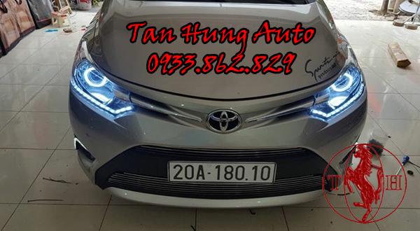 Độ Đèn Toyota Vios Chuyên Nghiệp Tại Tphcm 03