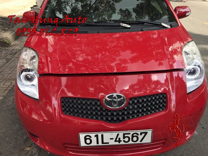 Độ Đèn Toyota Yaris Chuyên Nghiệp Tại Tphcm 02