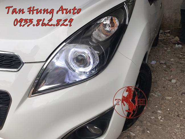 Độ Đèn Xe Chevrolet Spark Chuyên Nghiệp Tại Tphcm