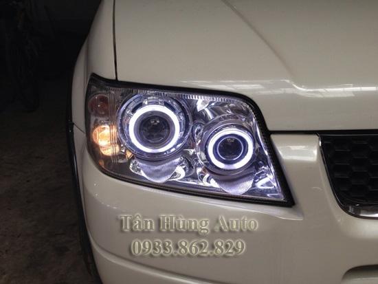 Độ Đèn Xe Ford Escape 2005 Tại Tphcm