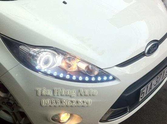 Độ Đèn Xe Ford Fiesta 2012 Chuyên Nghiệp 02