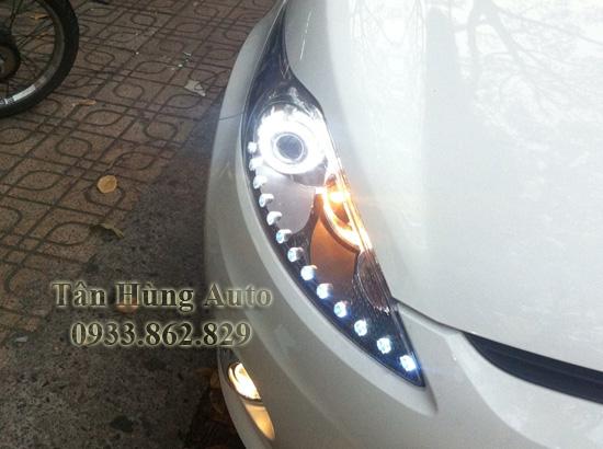 Độ Đèn Xe Ford Fiesta 2012 Chuyên Nghiệp