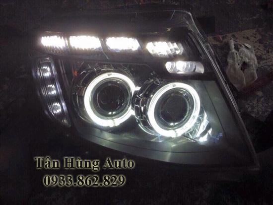 Độ Đèn Xe Ford Ranger 2012 Tại Tphcm 01