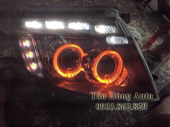 Độ Đèn Xe Ford Ranger 2012 Tại Tphcm 02
