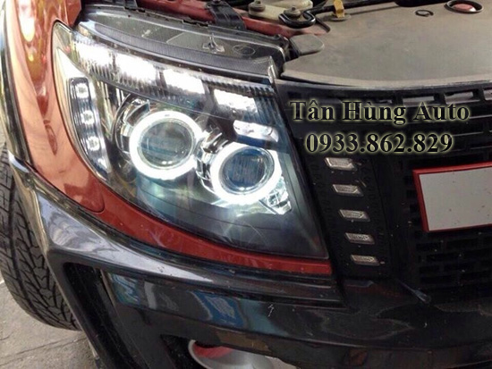 Độ Đèn Xe Ford Ranger 2012 Tại Tphcm