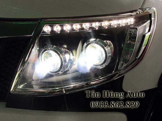 Độ Đèn Xe Ford Ranger 2013 Tại Tphcm 01