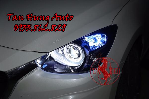 Độ Đèn Mazda 2 Chuyên Nghiệp Tại Tphcm 01