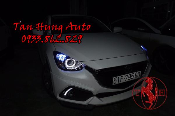 Độ Đèn Mazda 2 Chuyên Nghiệp Tại Tphcm 03