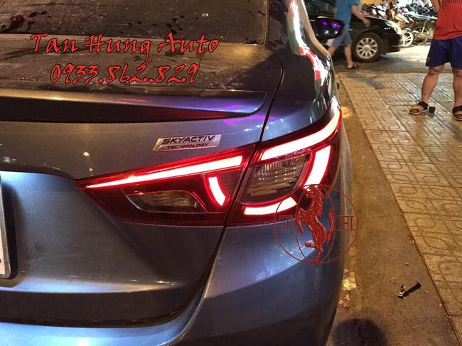 Độ Đèn Xe Mazda 2 Kiểu BMW Chuyên Nghiệp 03