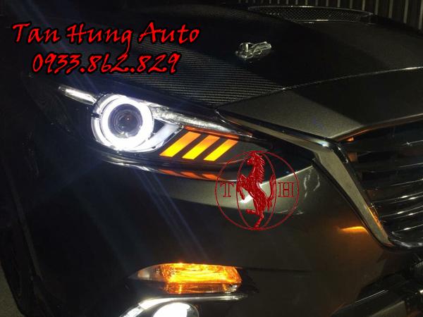 Độ Đèn Xe Mazda 3 Kiểu Mustang Chuyên Nghiệp 01