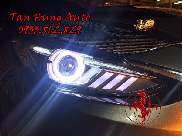 Độ Đèn Xe Mazda 3 Kiểu Mustang Chuyên Nghiệp 02