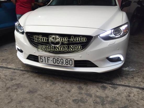 Độ Đèn Led Mazda6 2014 Tại Tphcm 01