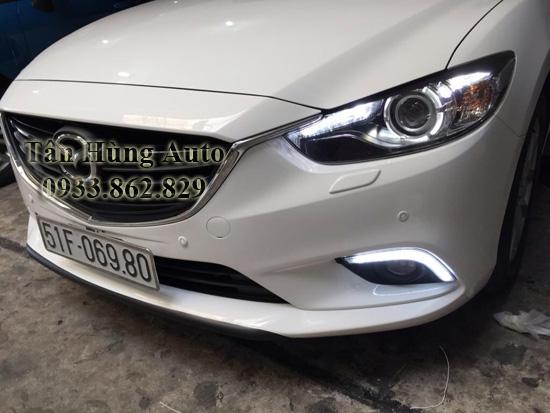 Độ Đèn Led Mazda6 2014 Tại Tphcm 02