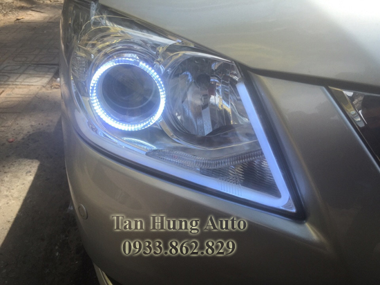 Độ Đèn Xe Toyotal Camry 2012 Chuyên Nghiệp