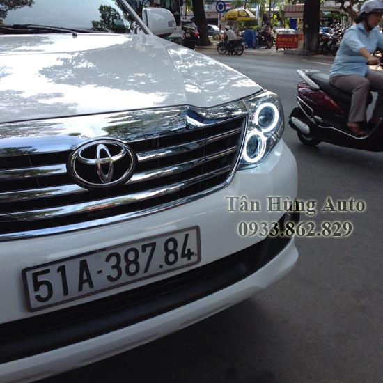 Độ Đèn Toyota Fortuner 2014 Chuyên Nghiệp